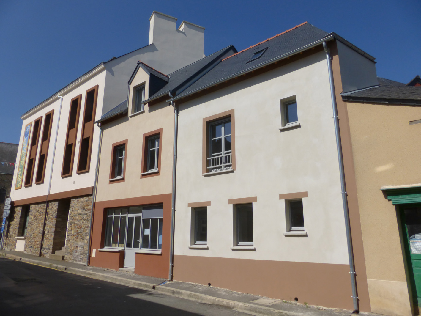 Immeuble grand fougeray klg architecte for Architecte du patrimoine