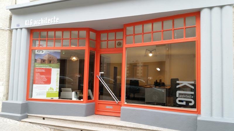 nouveau cabinet d'architecture à Bain-de-Bretagne (35)